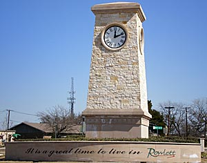Rowlett Landmark